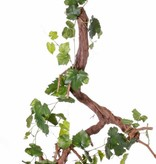 Guirnalda de hojas de uva 186cm, 54 hojas - resistente a los rayos UV