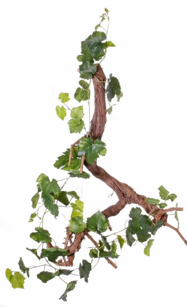 Druivenrank met 54 bladeren, 6 uitlopers, 186cm - UV bestendig