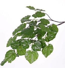 rama del árbol del amor, 3 ramitas, 48 hojas, 91 cm