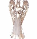 ANGEL HOLDING FLOWER, 30CM