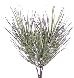 Grasbusch beflockt, 3 Grasbüsche in einem, 270 Halme, 31cm