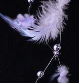 Feather garland, 180cm, special offer