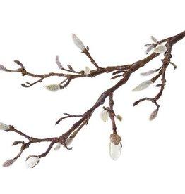 Rama de magnolia con 19 capullos, 71cm