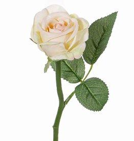 "Rosa ""Nina"" Ø 5cm, 3 hojas, 27cm"