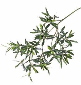 Olive branch, 234 leaves, 90cm