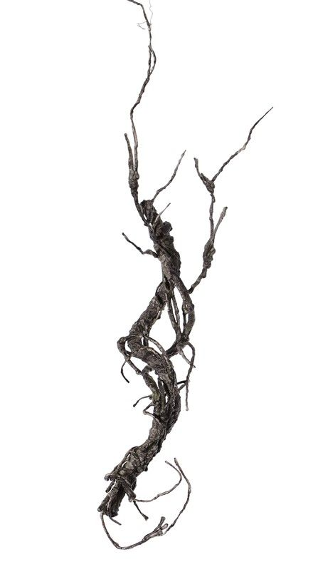 "Decoratietak, ""curly"", coated, 55cm"
