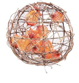 Ball of twigs with physalis, Ø 25cm