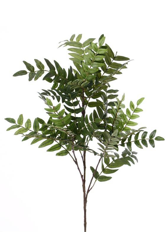 Vogel- Mehlbeerenzweig (Sorbus) 391 Blätter, 73cm