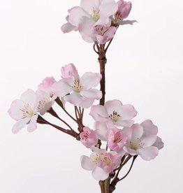 Flor de manzana corta 3 tros, 17 flores & 10 capullos, 36cm