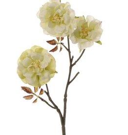 """Rosas """"Little Joy"""", 3  flores , 10 hojas, 38cm"""