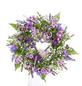 Corona Fritillaria / Lathyrus / Lavendula Mix, Ø 15cm, Ø 35cm - precio especial