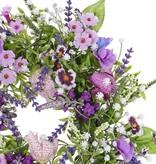 Wreath fritillaria/lathyrus/lavender mix,  Ø 15cm,  Ø 35cm - special price