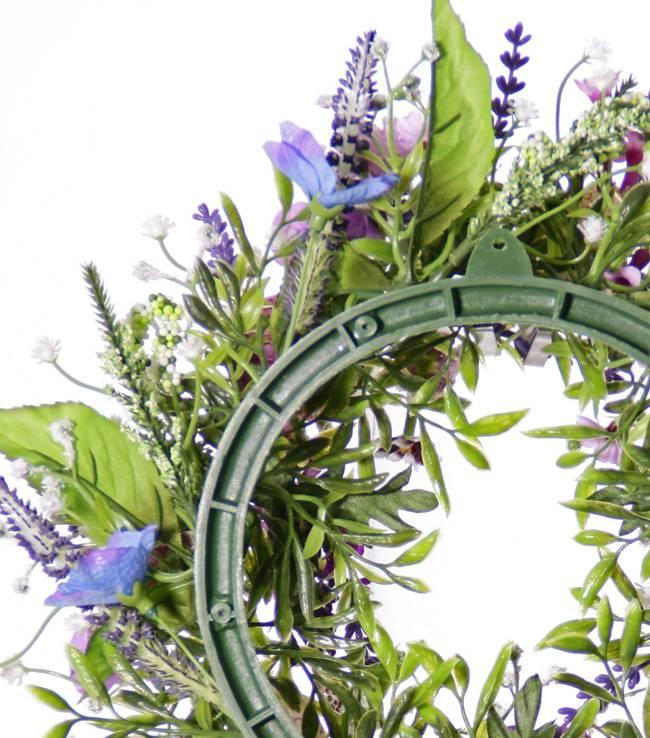 Kranz Fritillaria / Lathyrus / Lavendel Mix, Ø 15cm, Ø 35cm - Sonderpreis