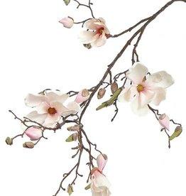 Magnolia con 4 flores, 22 capullos, 107 cm