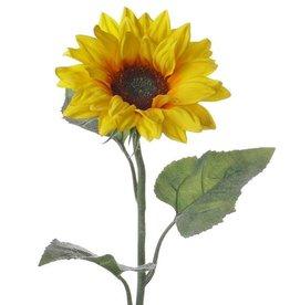 Zonnebloem met 3 bladeren, 81cm, Ø 17cm