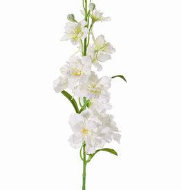 Delphinium, 12 flores, 8 capullos, 3 hojas,  60 cm