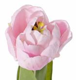 Tulpe 'Full Bloom',  (Ø 6.5 * 5.5cm), 6 Lagen Blüten!, 'Top Art 60!', 2 Blätter, REAL TOUCH, 45cm