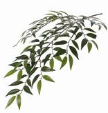 Smilax-Blattzweig mit 3  Verzweigungen, 112 Blättern, 2 Grüntöne, 72cm