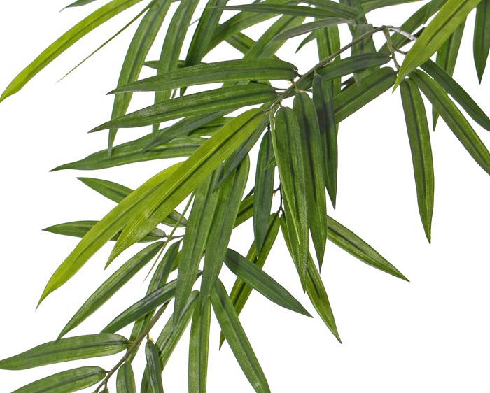 Bamboetak 'Royal', 80 bladeren, 4 knop, UV bestending, 82cm