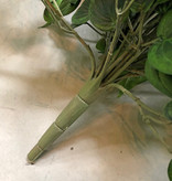 """Philodendron-Busch mit 19 Ausläufern und 294 Blättern, """"Vital Greens"""", schwer entflammbar, 80cm"""