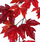 "Ahorn-Blattzweig ""Ruby"", 15 Blätter (Ø 10/14cm), 91cm"
