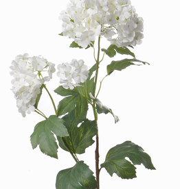 Viburnum 71cm, 4 flores,  Ø 11cm, 7cm, 4cm, 3cm