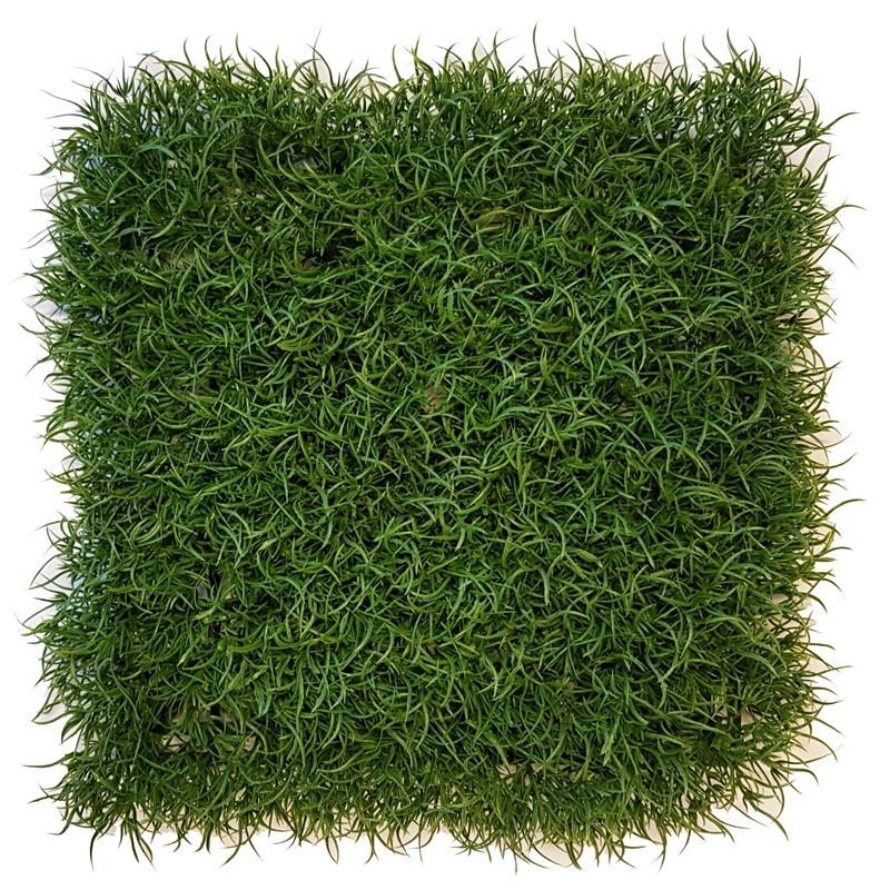 Gras wild, Heckenelement, 25 x 25 x 6cm, UV-sicher