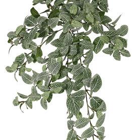 Fittonia, 267 hojas, resistente del fuego y de rayos UV, 50cm