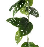 Monstera 'Monkey Leaf' Girlande, 19 Blätter, 115cm