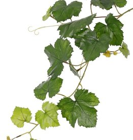 Grape leaf branch (Vitis vinifera) 18 leaves, UV safe, 62cm