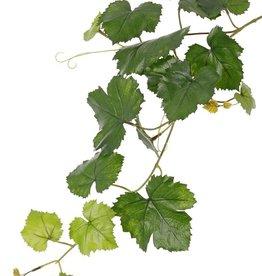 Traubenblattzweig (Vitis vinifera) 18 Blätter, UV sicher, 62cm