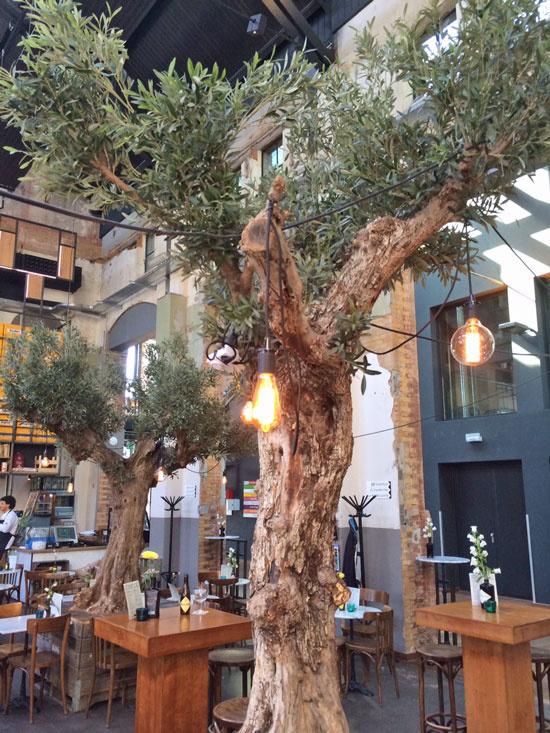 Olive branch, 234 leaves, 90cm -UV-safe