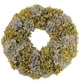 Krans hydrangeamix 'Top Autumn', Ø 46cm / Ø 20cm, H. 12cm