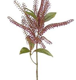 Pieris decobranch with 1 plastic cluster Ø 20cm & 6 leaves, 62cm