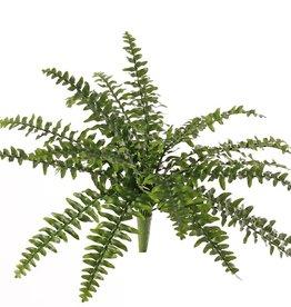Boston-Farn (Nephrolepsis) 21 Farnblätter, mit 2 Grüntönen, Ø 50cm, schwer entflammbar