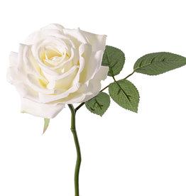 "Rosa de luxe ""Fleuri"", Ø 12cm, 5 hojas, 30cm"