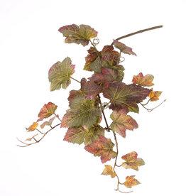 """Traubenblatt """"Autumn"""", 3 Verzweigungen,  22 Blätter,  72 cm"""