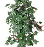 "Hedera (English Ivy) hanger giant ""Vital Greens"" 19 vertakkingen, 282 bladeren, 86cm - brandvertragend"