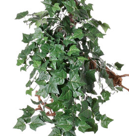 "Hedera (English Ivy) hanger giant ""Vital Greens"", 282 leaves,  86cm, fire retardant"