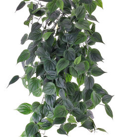 """Philodendron giant hanger, 19 branches, 294 leaves in total """"Vital Greens"""", 91 cm, fire retardant"""