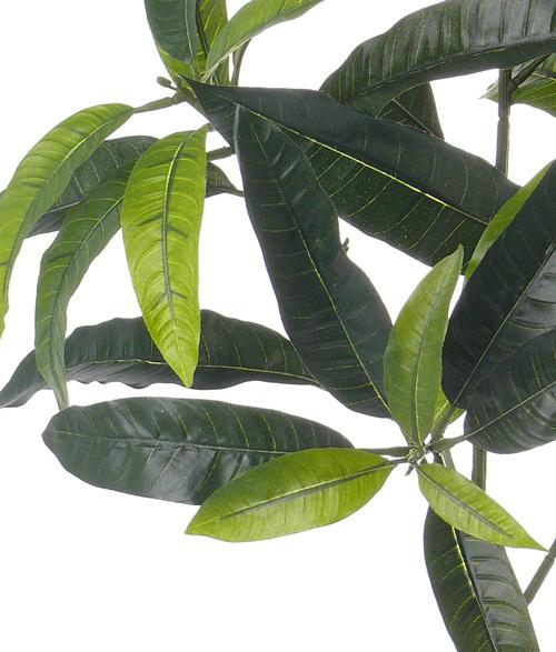 "Mango ""de luxe"", 44 leaves, 70cm, FIRE RETARDENT"