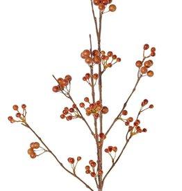 Beerenzweig, 6x verzweigt, 21 Blütenstände, 80 cm