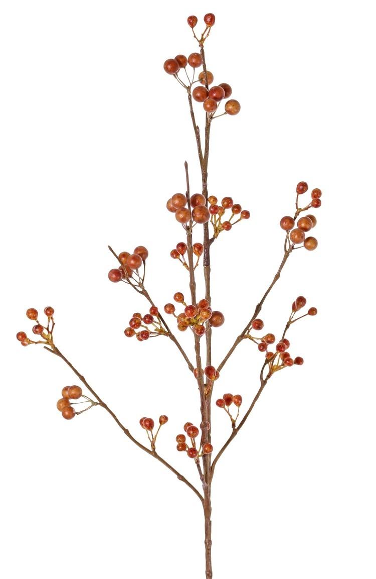 Berries spray, 21 clusters of berries, 80 cm