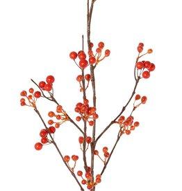 Berries spray, 21 clusters of berries, 80 cm - Copy