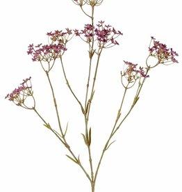 Gipskruidtak (Gypsophila) 3 vertakkingen, 9 bloemenclusters (4 L / 3 M/2 S), 70 cm