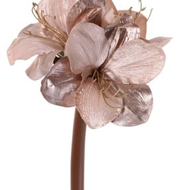 Top Art Flor artificial Amaryllis 'Glamour', 3 flores