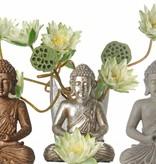 Buda sentado, meditando, 30 cm