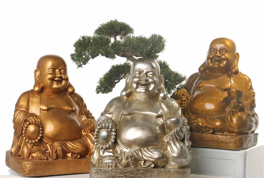 Boeddha lachend 43cm
