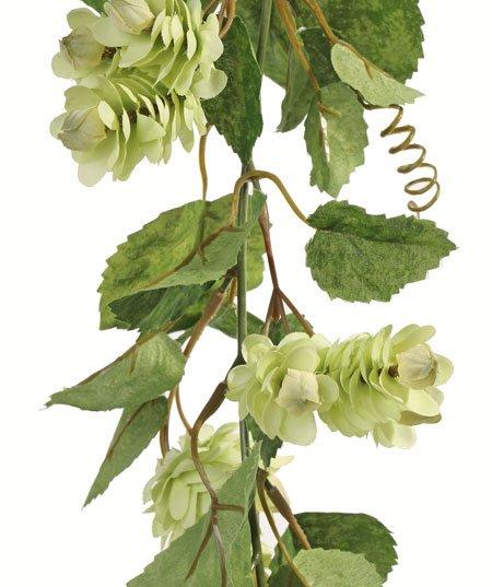 Guirnalda lúpulo 84 flors, 134 hojas  (1 pc bag) 200cm