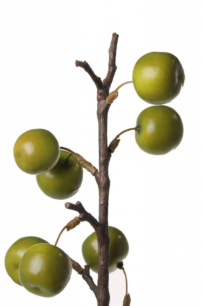 Appeltak de luxe met 22 appeltjes 97cm (1 st in polybag)